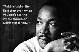 In honor of Dr. Martin Luther King Jr. Day here is a reminder to stay encouraged in your goals.