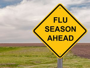 Caution - Flu Season Ahead