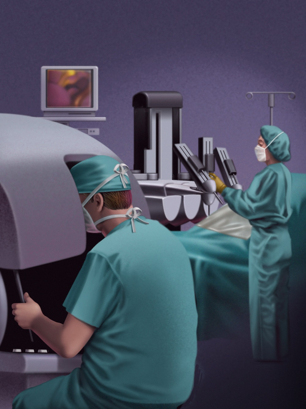 How Does Robotic Prostate Surgery Work Health Beat