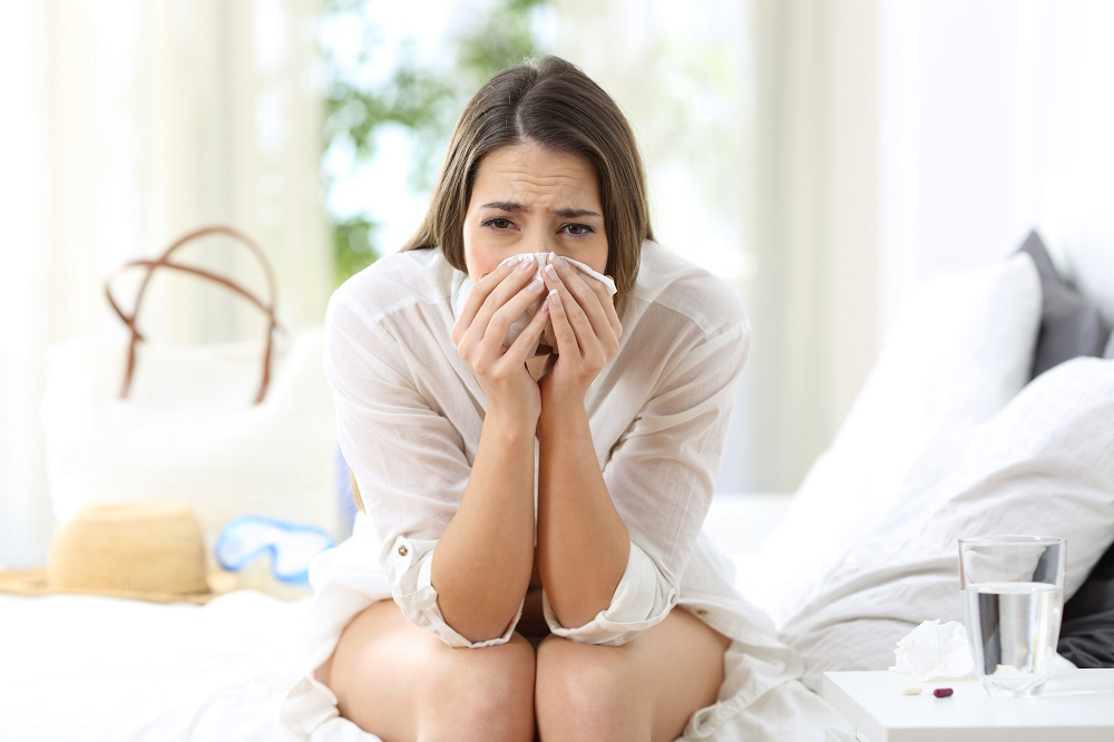 Early signs of the flu